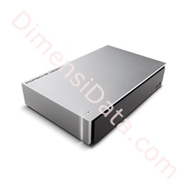 Jual Hard Drive LACIE Porsche Design USB 3.0 light-grey 3TB [LAC9000302]